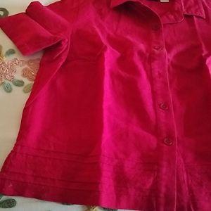 Linen rayon blouse